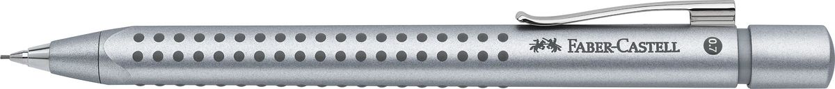 Faber-Castell Карандаш механический Grip 2011 0,7 мм цвет корпуса серебристый