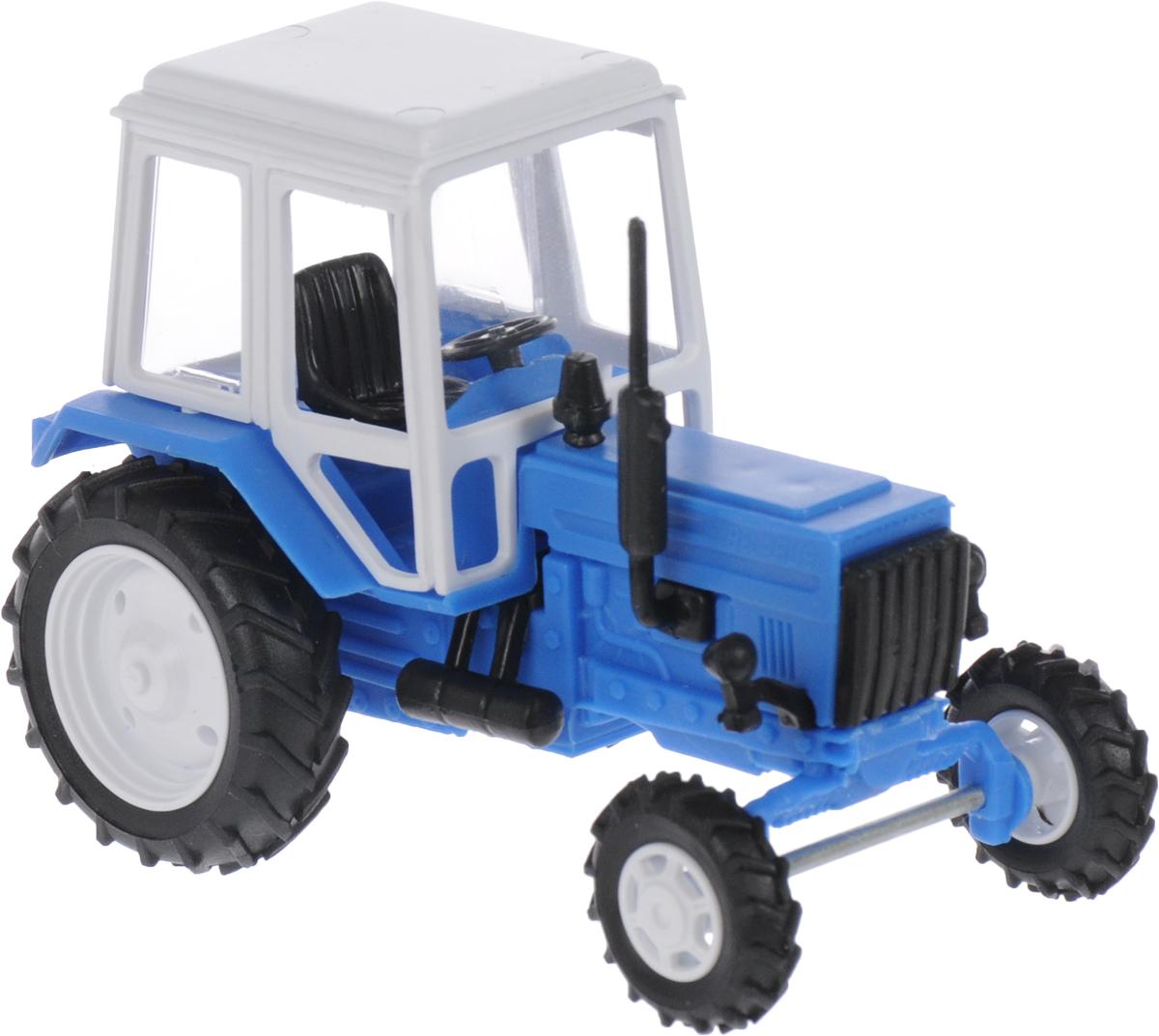 Мир отечественных моделей Трактор МТЗ-82 цвет голубой каталог вом мтз 80