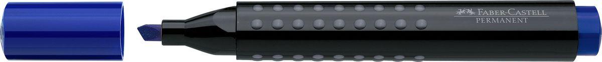 Faber-Castell Маркер перманентный Grip 1503 цвет синий faber castell маркер для белой доски grip 4 шт