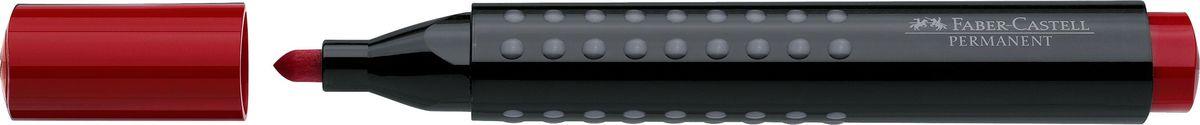Faber-Castell Маркер перманентный Grip 1504 цвет красный faber castell маркер для белой доски grip 4 шт