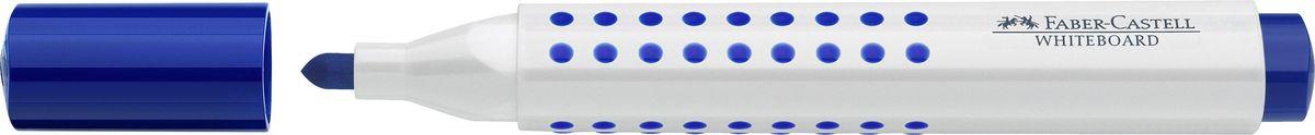 Faber-Castell Маркер для доски Grip цвет синий faber castell маркер для белой доски grip 4 шт