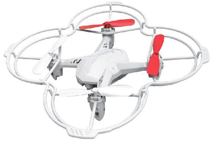 От винта! Квадрокоптер на радиоуправлении цвет белый 87239 от винта от винта квадрокоптер fly 0251 на радиоуправлении версия profi