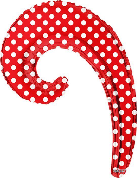 Конвер Шарик воздушный Волна цвет красный в горошек Конвер
