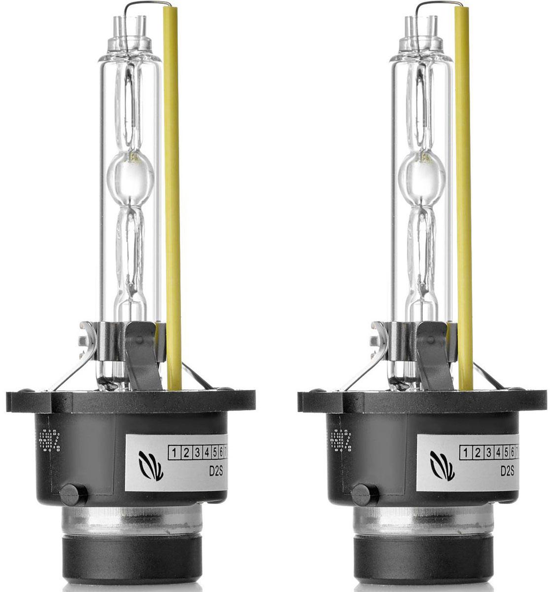 Лампа автомобильная ксеноновая Clearlight Xenon Premium+150%, цоколь D2S, 5000 К, 35 Вт, 2 шт лампа автомобильная ксеноновая clearlight xenon premium 150% цоколь d2r 5000 к 35 вт 2 шт