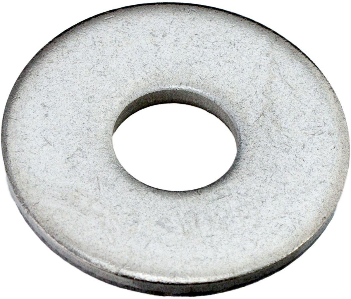 Шайба Стройбат, оцинкованная, кузовная, DIN 9021, 18 мм увеличенная шайба качественный крепеж плоская din 9021 м10 80 шт 0300967 кч