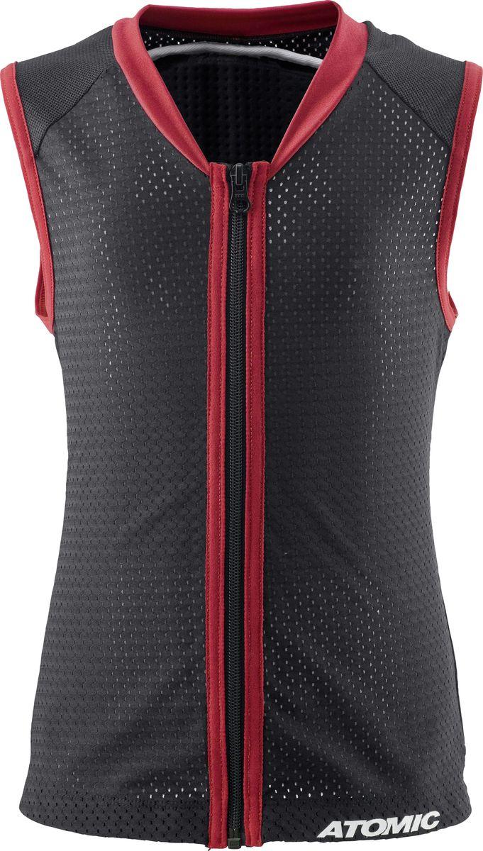 Защита спины Atomic Live Shield Vest Junior, цвет: черный. Размер S (46) atomic w839110 s