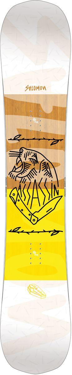 Сноуборд Salomon Assassin, 158 см. L39922400 цена