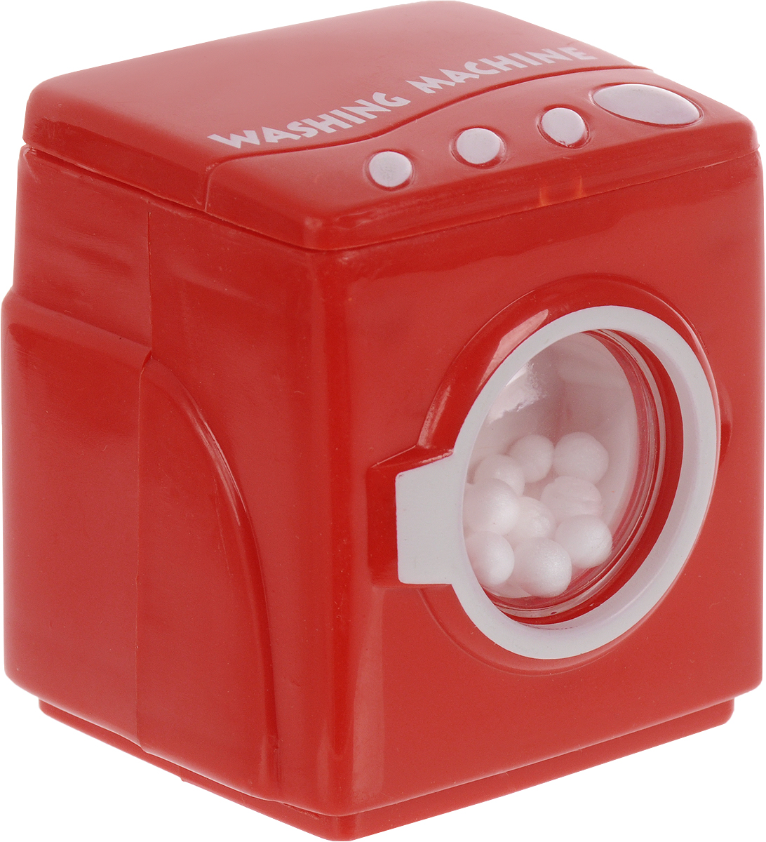 EstaBella Заводная игрушка Стиральная машинка цвет красный игрушечная бытовая техника estabella игровая микроволновая печь estabella