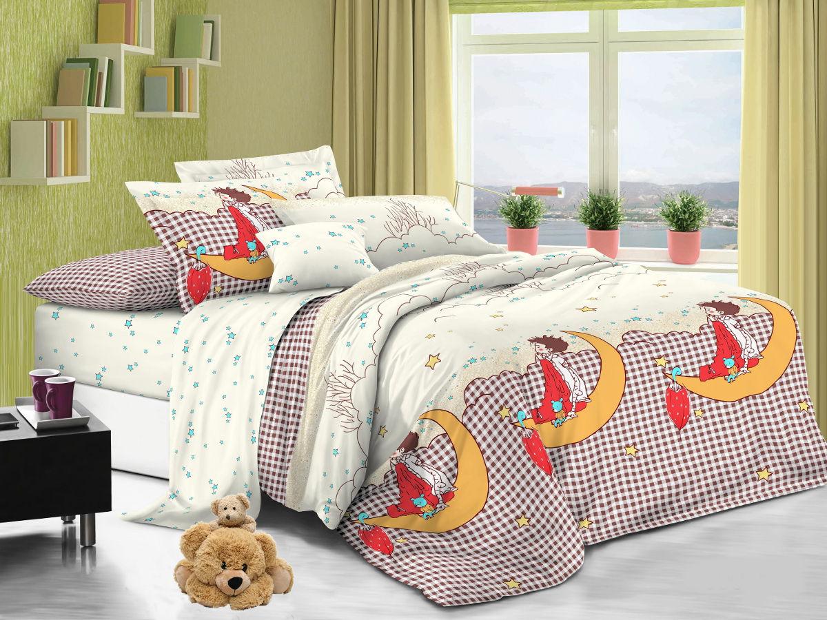 Cleo Комплект детского постельного белья Мечта 1,5 спальный цвет белый