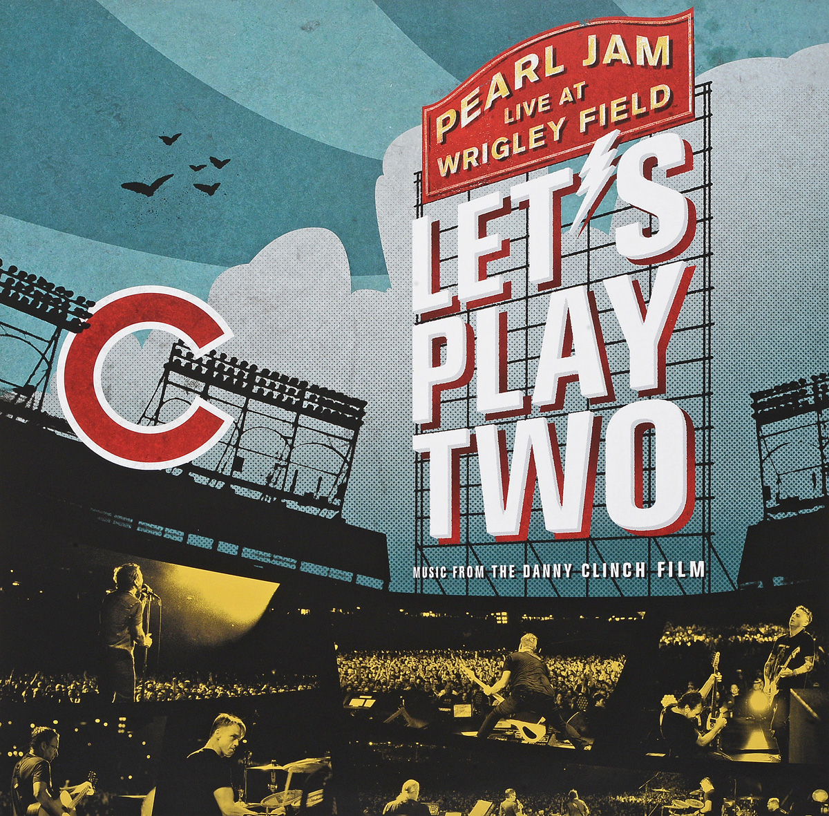 Pearl Jam Pearl Jam. Let's Play Two (2 LP) pearl jam pearl jam lightning bolt