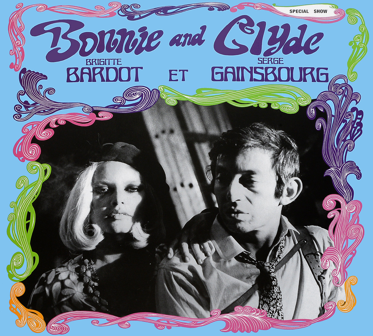 Серж Генсбур Serge Gainsbourg Et Brigitte Bardot. Bonnie And Clyde (LP) цена