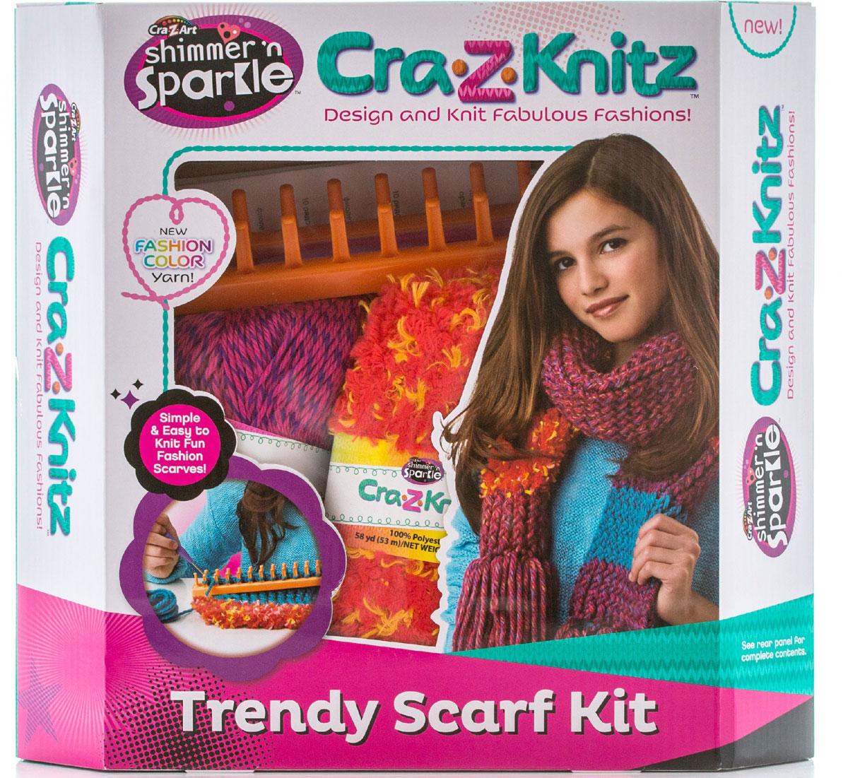 Cra-Z-Knitz Набор для вязания Шарф 17121A цены онлайн