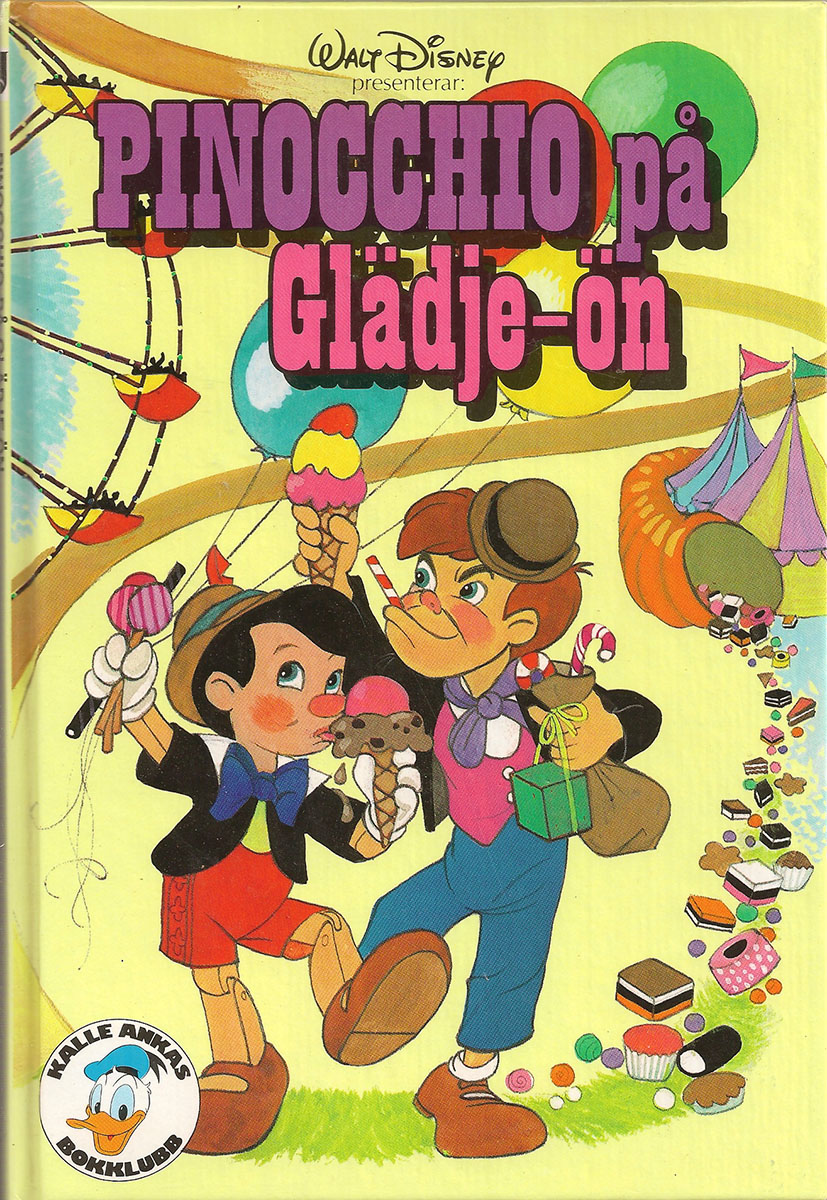 Pinocchio pa Gladje-on