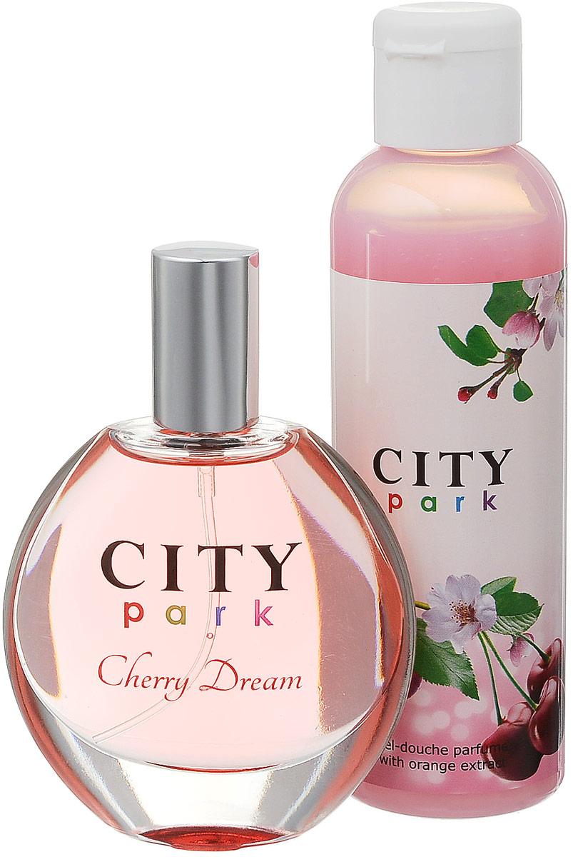 City Parfum Парфюмированный набор: City Park Cherry Dream Туалетная вода, 50 мл + Гель для душа, 150 мл цена