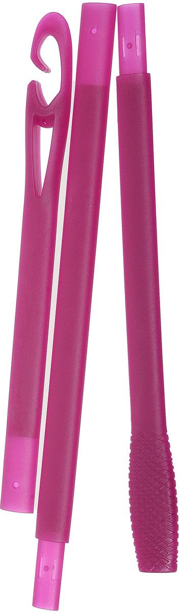 Magic LeverageКрючок тройной для бигуди, цвет:  сиреневый, 56 см Magic Leverage