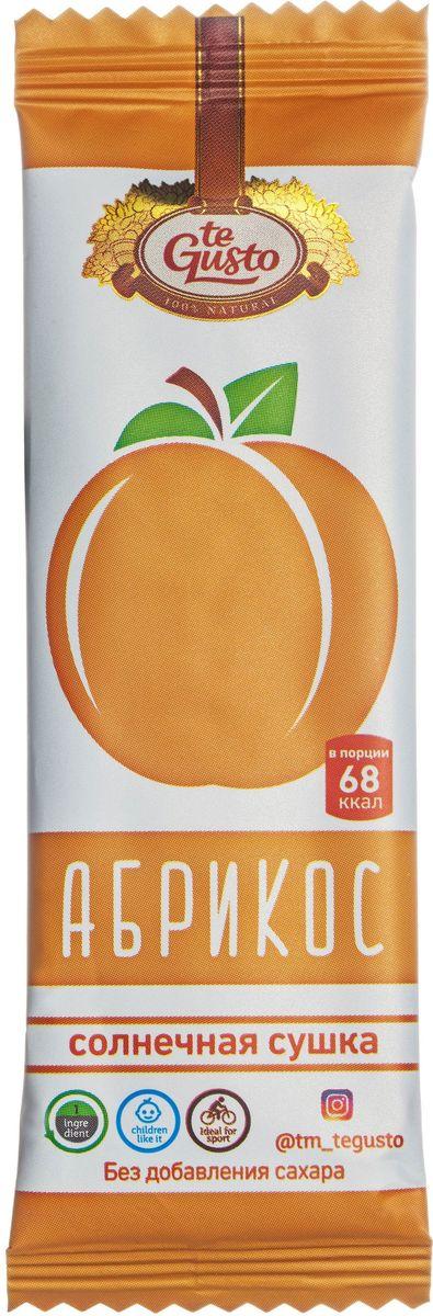 te Gusto фруктовый батончик из абрикоса, 25 г