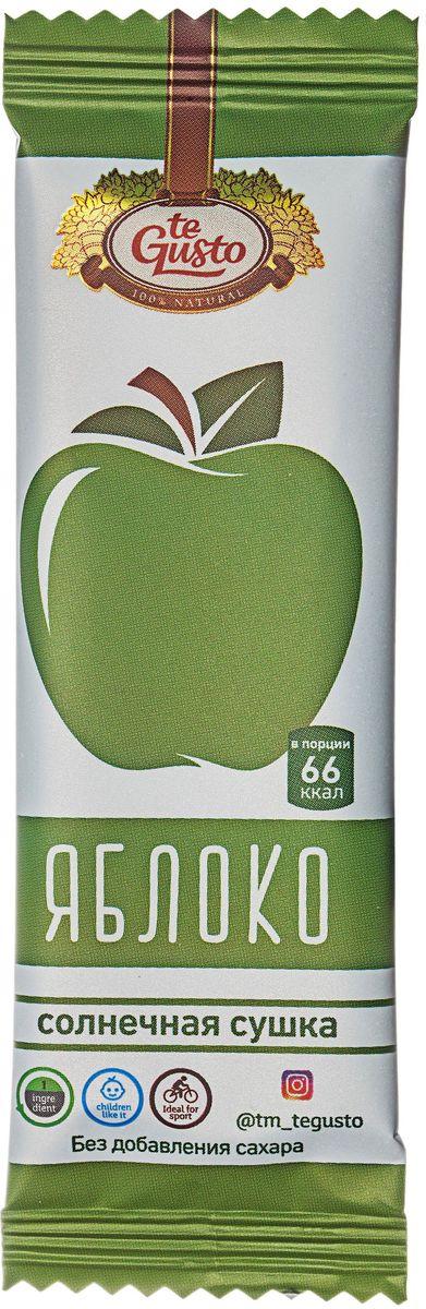 te Gusto фруктовый батончик из яблока, 25 г фруктовый батончик из абрикоса te gusto 25 г