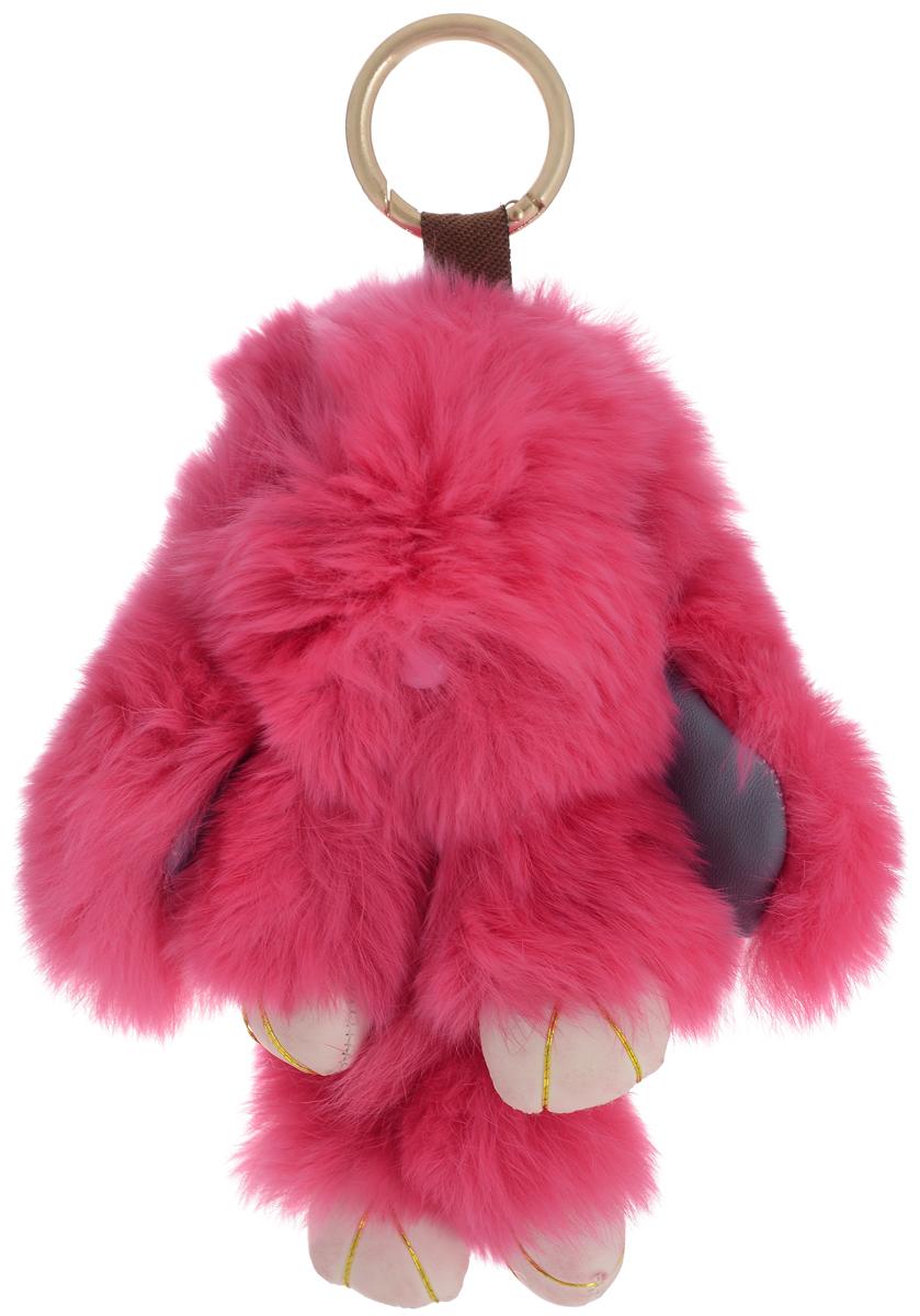 Vebtoy Брелок-игрушка Пушистый кролик цвет красный 19 х 13 х 7 см vebtoy брелок игрушка пушистый кролик цвет красный 22 х 16 х 9 см
