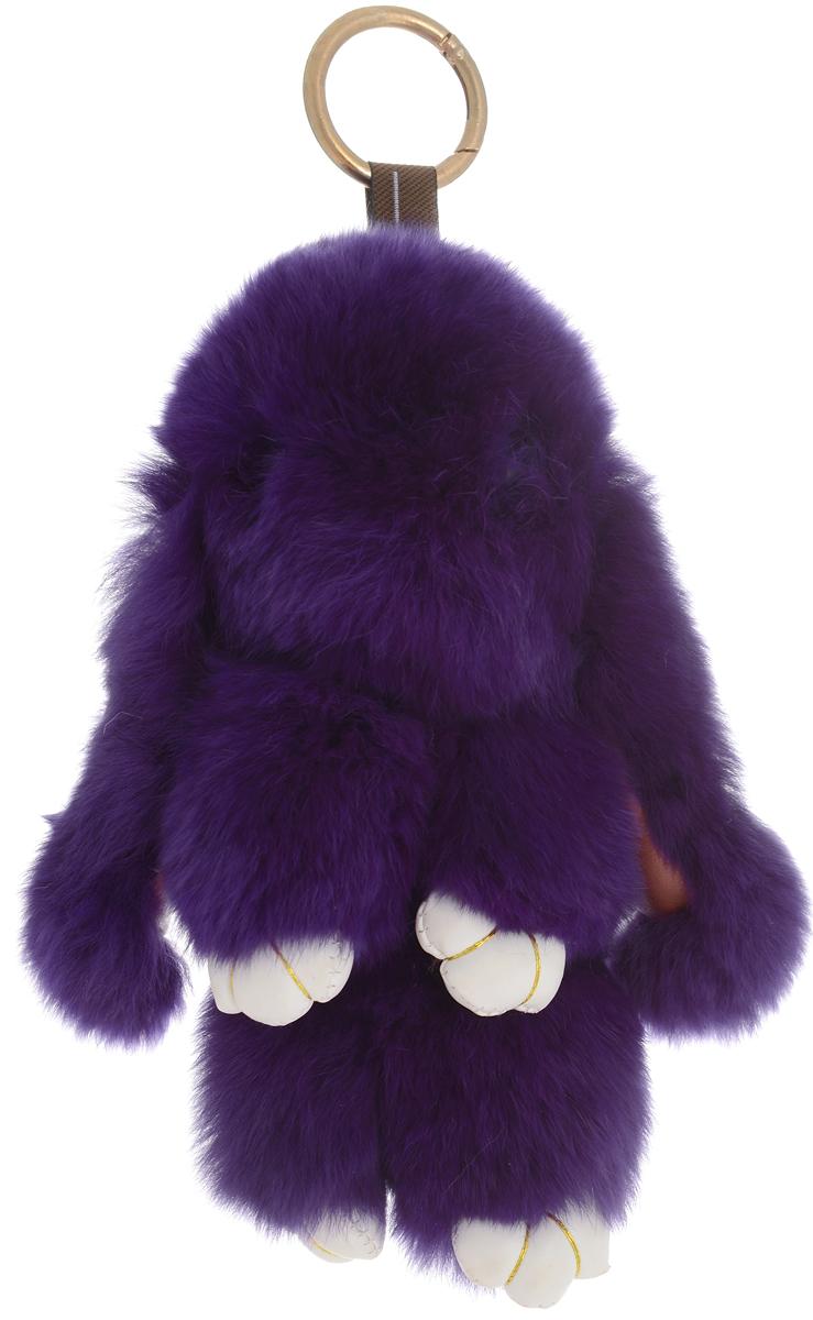 Vebtoy Брелок Пушистый кролик цвет фиолетовый БР-103 vebtoy брелок пушистый кролик цвет персиковый бр 305