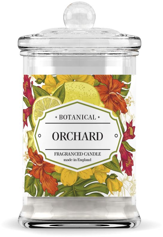 Свеча ароматическая Wax Lyrical Фруктовый сад, высота 14,6 см свеча ароматическая лампадная wax lyrical альпийский лес 16 часов горения