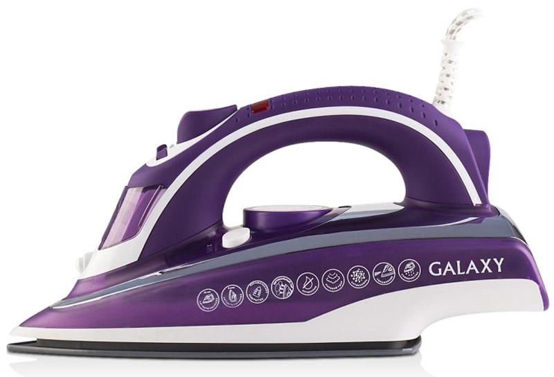 Утюг Galaxy GL 6115, Purple White утюг galaxy gl 6101