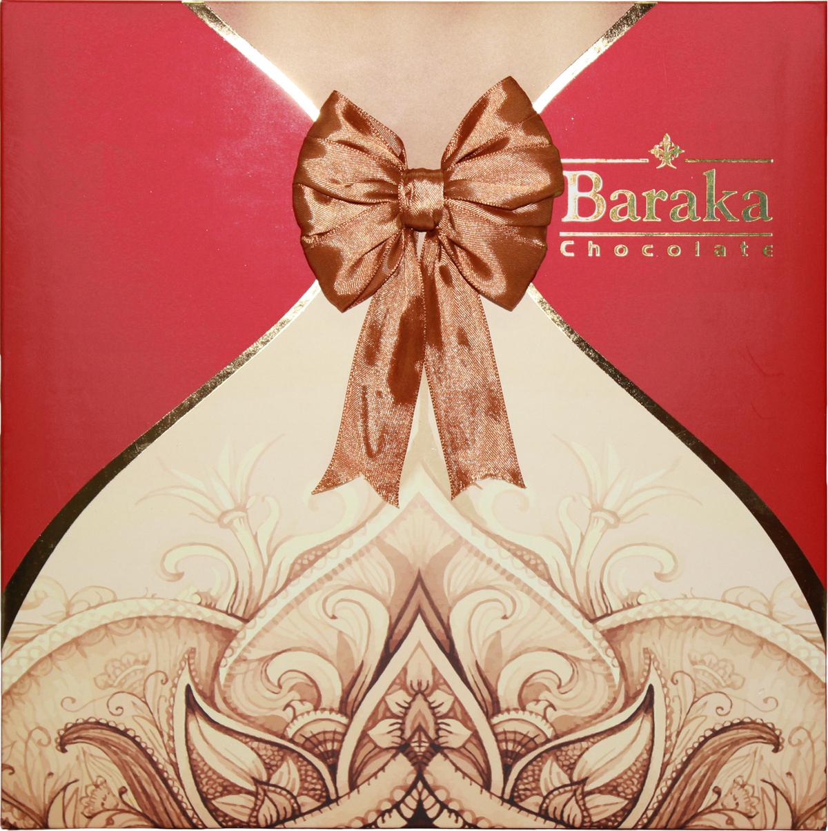 Baraka Бану ассорти шоколадных конфет, 240 г