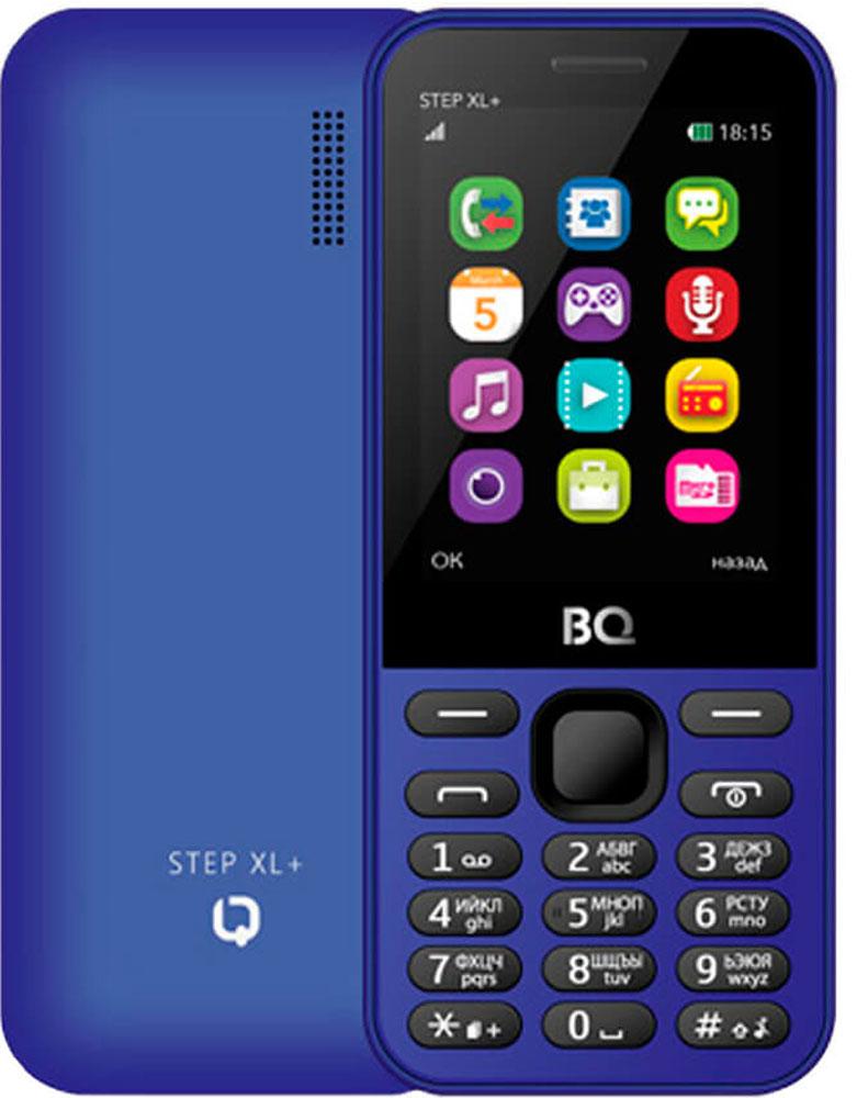 Мобильный телефон BQ 2831 Step XL+, темно-синий мобильный телефон bq bqm 2831 step xl черный 2 8 32 мб