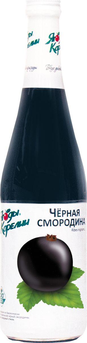 Ягоды Карелии нектар черносмородиновый с мякотью, 0,51 л