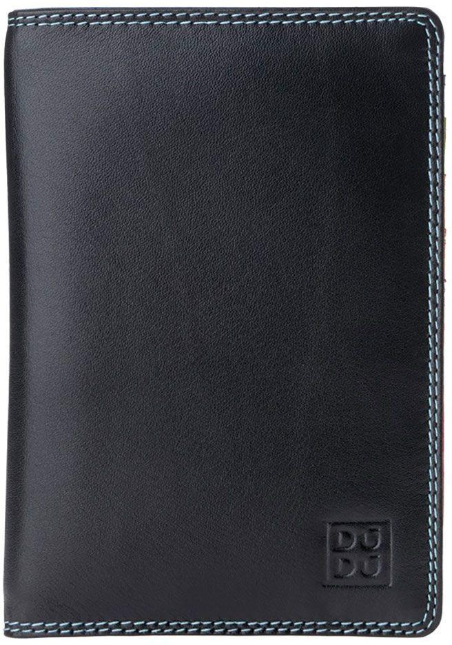 Обложка для паспорта DuDu Bags Paul, цвет: черный. 534-1508-black обложка для паспорта dudu bags цвет фуксия 534 1508 fuxia