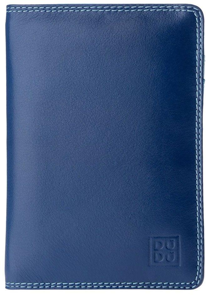 Обложка для паспорта DuDu Bags Paul, цвет: голубой. 534-1508-blue обложка для паспорта dudu bags цвет фуксия 534 1508 fuxia