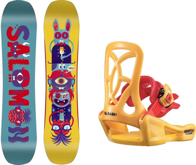 Сноуборд Salomon Team Package, 100 см. L39925000 цена