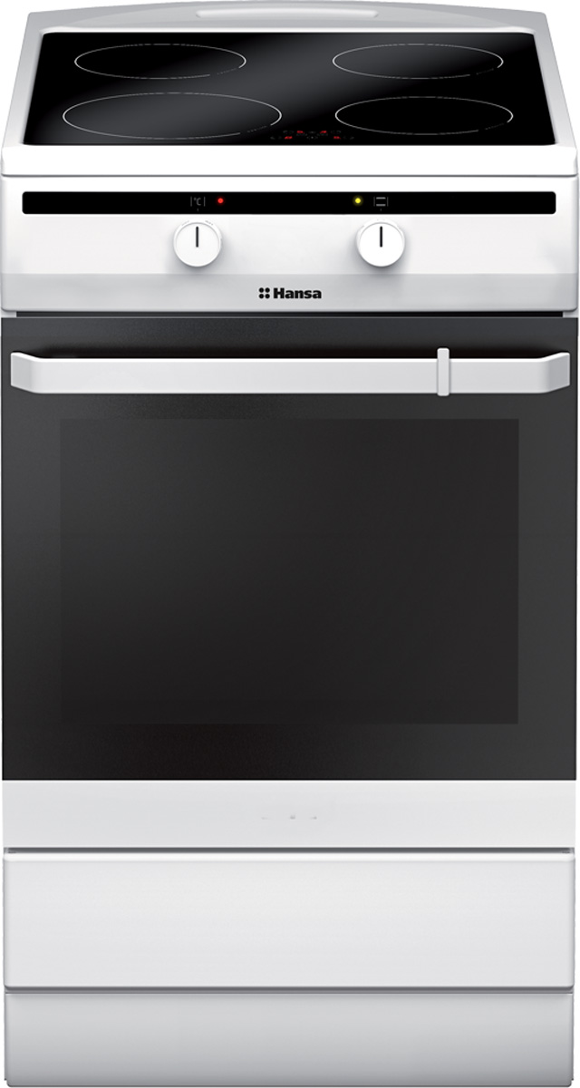 Hansa FCIW53000, White плита электрическая