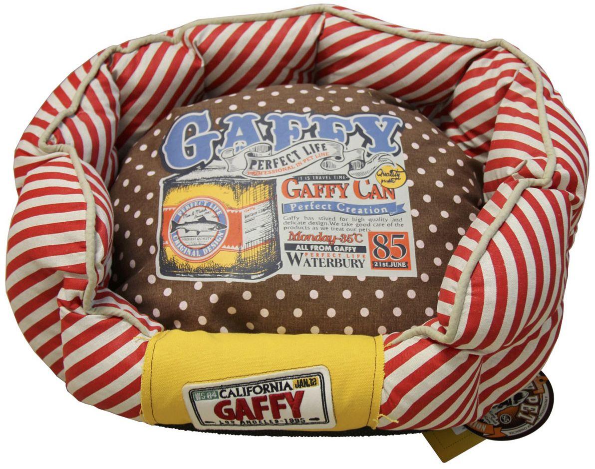 """Лежак для животных Gaffy Pet """"Dots Stripes"""", 55 х 49 х 23 см"""