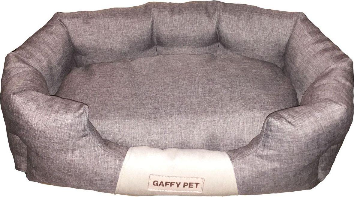 """Лежак для животных Gaffy Pet """"One"""", цвет: серый, 55 х 35 х 23 см"""