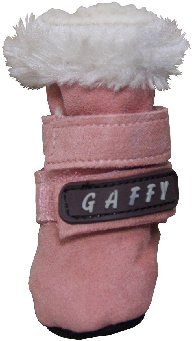 """Ботинки для собак """"Gaffy Pet"""", цвет: розовый. Размер XS"""