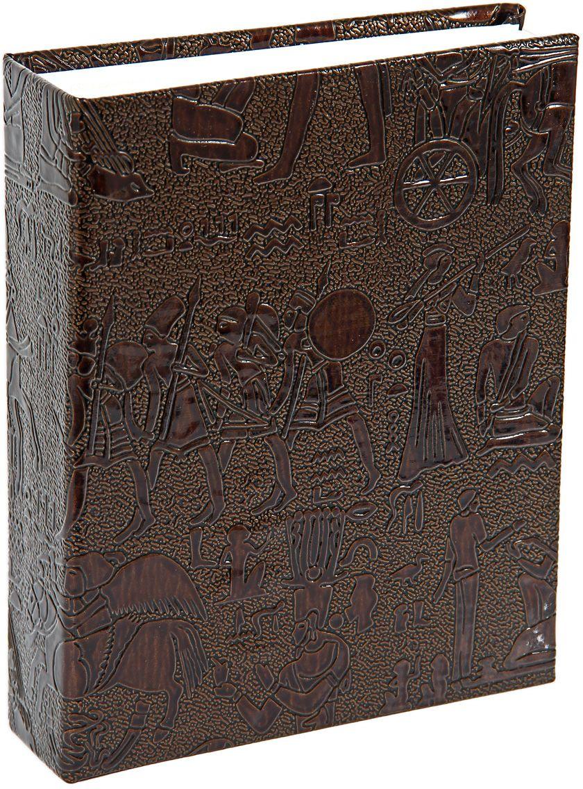 Фотоальбом Pioneer Egypt Leather, цвет: коричневый, 10 х 15 см фотоальбом platinum ландшафт 1 200 фотографий 10 х 15 см цвет зеленый голубой коричневый pp 46200s
