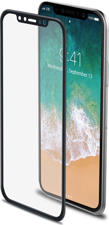 Celly 3D Glass защитное стекло для Apple iPhone X, Black цена и фото