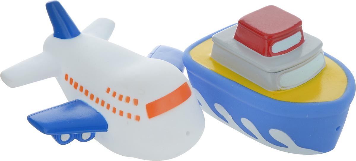 Играем вместе Набор игрушек для ванной Корабль и самолет игрушки для ванной играем вместе набор для купания disney немо
