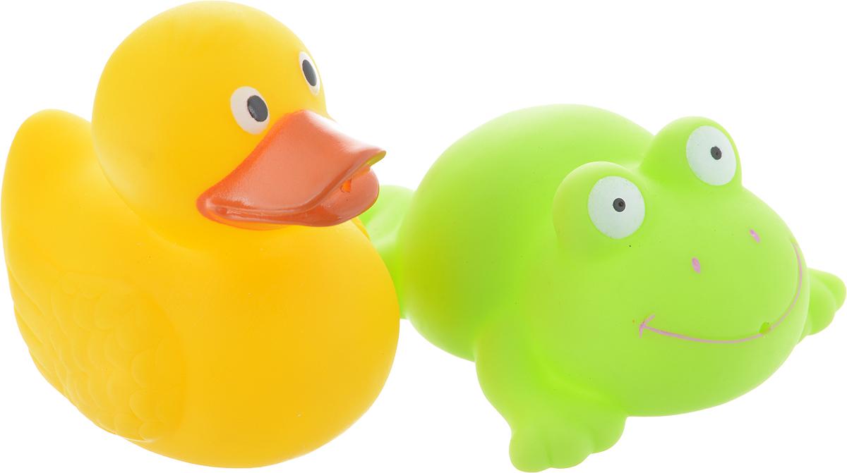Играем вместе Набор игрушек для ванной Лягушка и утка игрушки для ванной играем вместе набор для купания disney немо