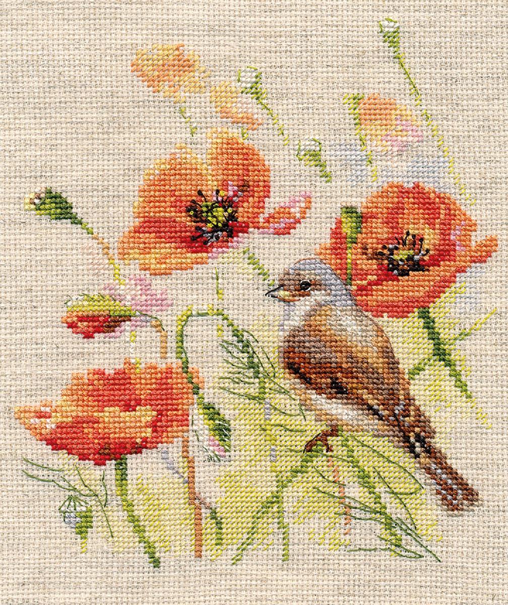 Набор для вышивания крестом Алиса Ремез, 15 х 18 см набор для вышивания крестом алиса ремез 15 х 18 см