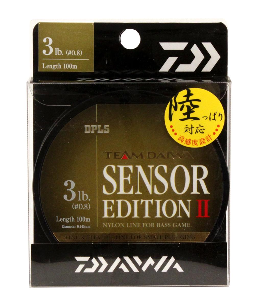 Леска Daiwa TD Sensor Edition II, цвет: оливковый, 3 lb, 100 м