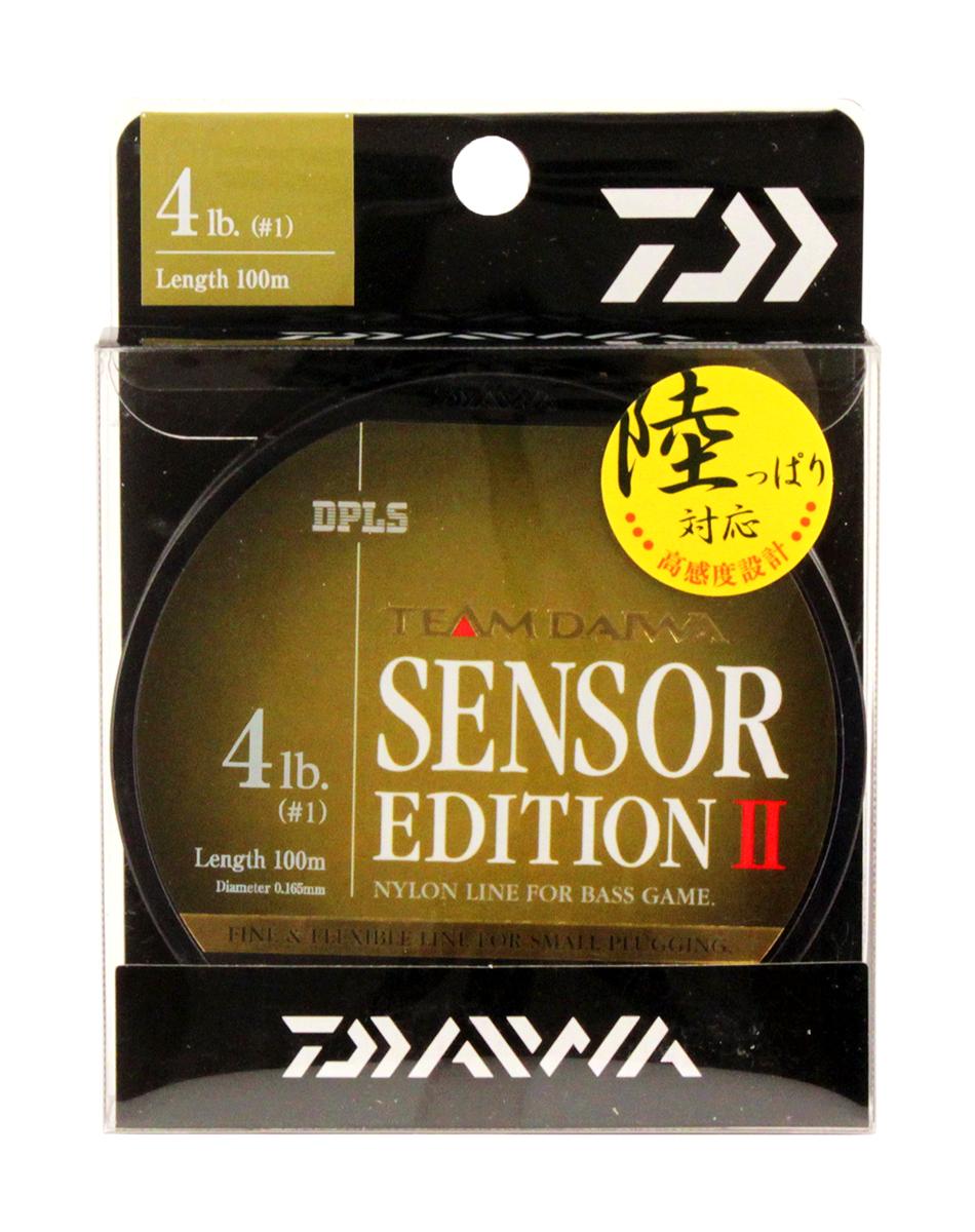 Леска Daiwa TD Sensor Edition II, цвет: оливковый, 4 lb, 100 м tcrt5000 reflective infrared sensor photoelectric switches 10 pcs