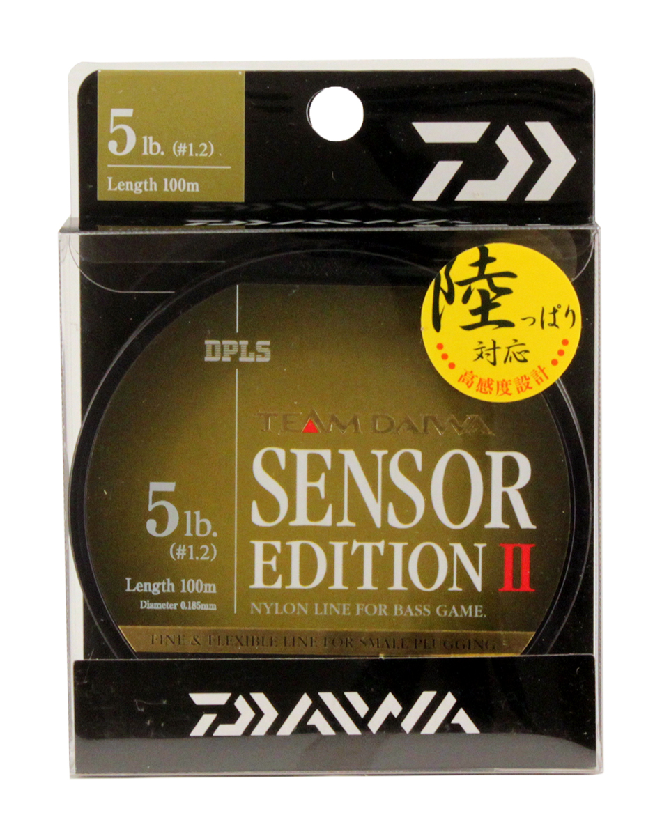 Леска Daiwa TD Sensor Edition II, цвет: оливковый, 5 lb, 100 м tcrt5000 reflective infrared sensor photoelectric switches 10 pcs