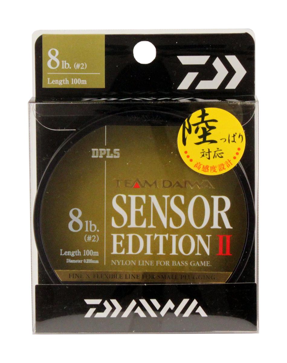 Леска Daiwa TD Sensor Edition II, цвет: оливковый, 8 lb, 100 м tcrt5000 reflective infrared sensor photoelectric switches 10 pcs