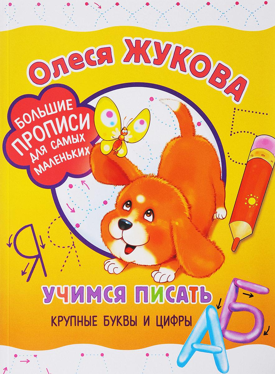 Олеся Жукова Учимся писать крупные буквы и цифры