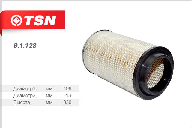 Фильтр воздушный BAW Fenix 1044 дв. 4100 QBZL запчасти baw 1044