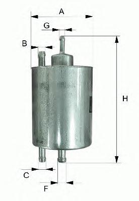 Фильтр топливный Filtron PP985 все цены
