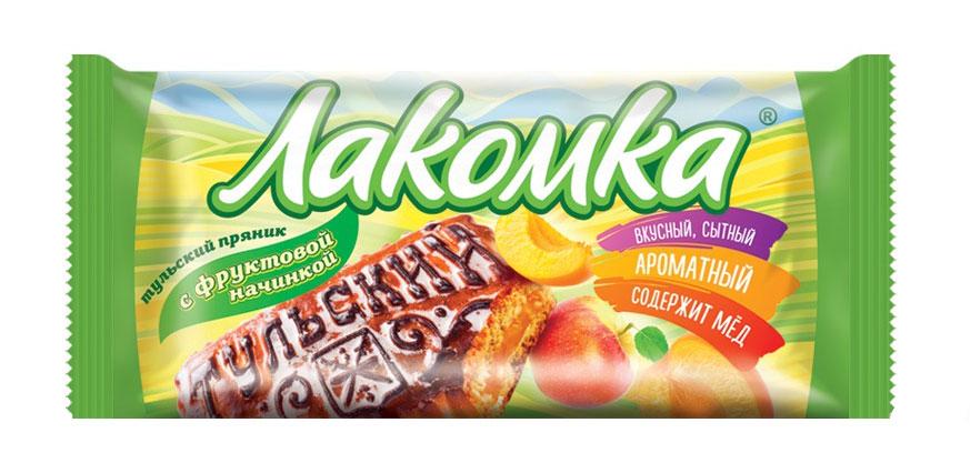 Фото - Тульский пряник Лакомка с фруктовой начинкой, 140 г история пряника