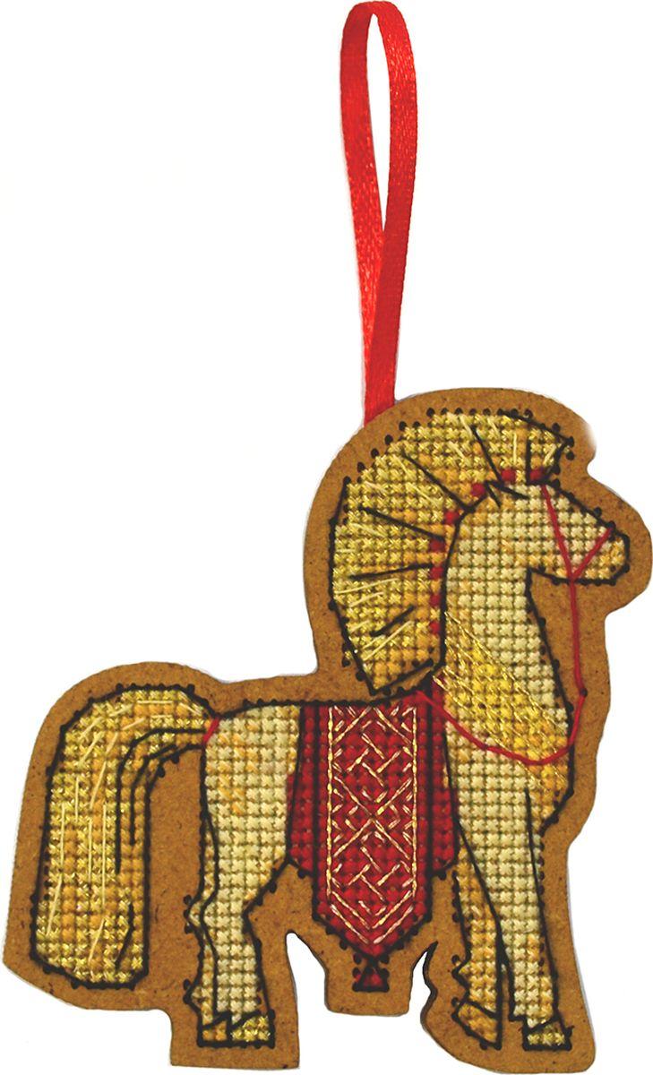 Набор для вышивания крестом Созвездие Солнечный коник, 8 х 7,5 см набор для вышивания крестом созвездие добрая дорога подорожница 9 х 4 5 см