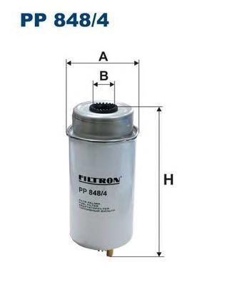 Фильтр топливный топливный фильтр filtron pp8371